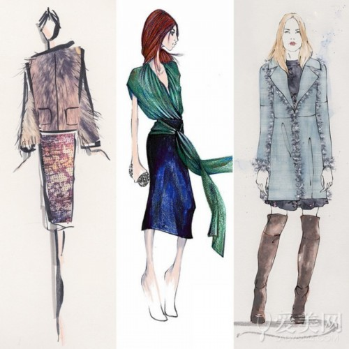 从设计手稿透视纽约时装周看点_行业新闻_香港服装学院