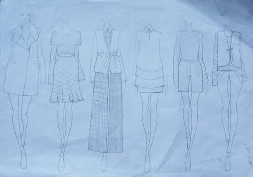 设计师;我学会了如何适应企业的工作环境与团队精神,了解到服装是如何
