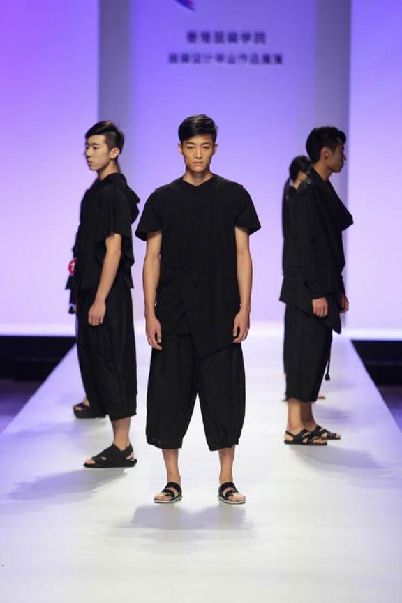香港服装学院举行服装设计毕业作品展