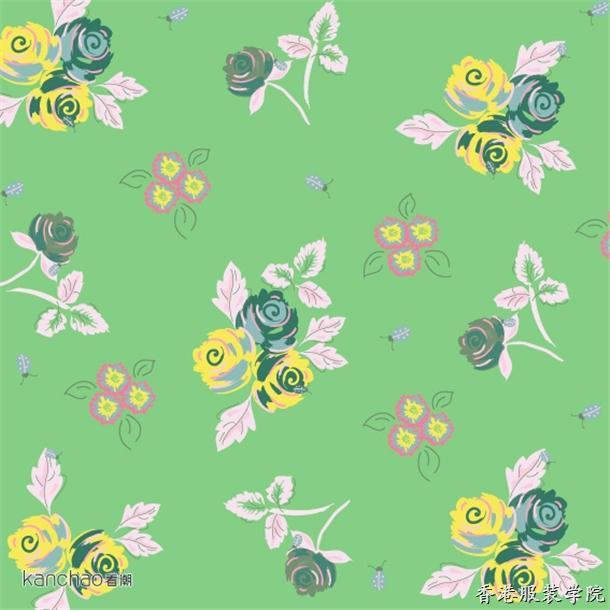 适合纹样设计花卉