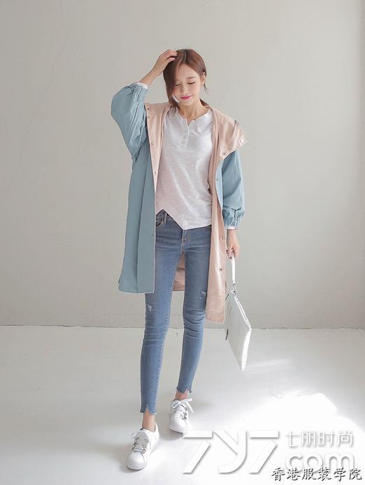 韩版风衣搭配 韩国欧尼教你美翻整个秋季