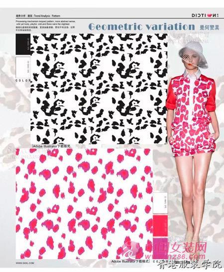 2017-2018最新服装图案流行趋势
