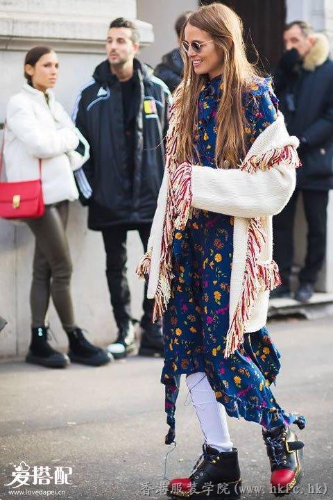 2017冬季长版针织开衫搭配推荐