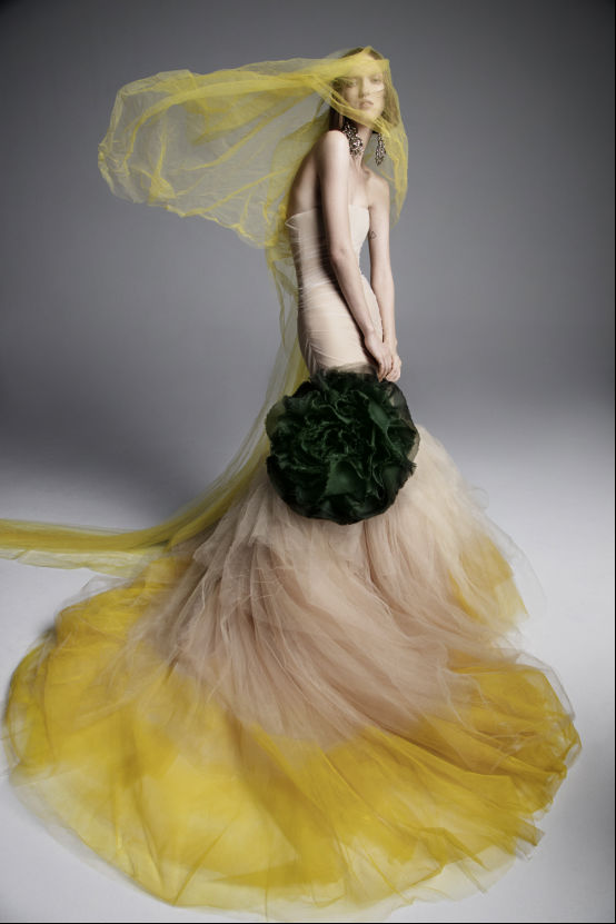 戏梦芭蕾 VERA WANG2019春季婚纱系列