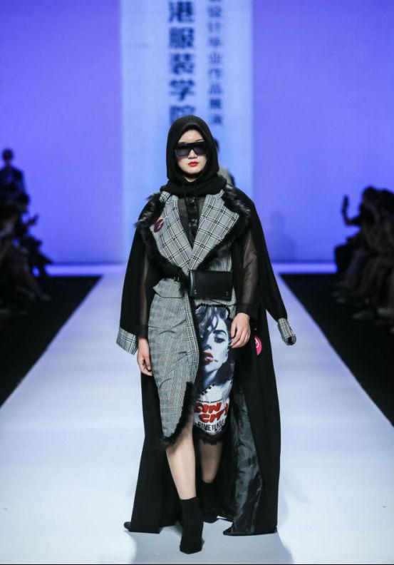 香港服裝學院2018服裝設計畢業作品展亮相廣東大學生時裝周