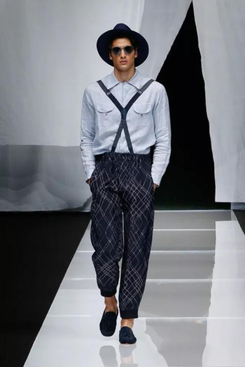 米兰男装周——乔治·阿玛尼品牌时装秀