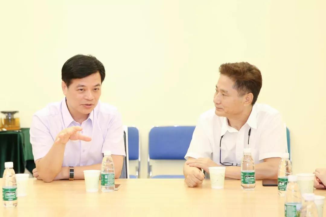 深化校企合作 韩国明宝纺织社来我院交流访问