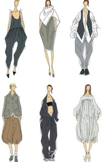 香港服装学院讯,016春夏服装款式设计:从面料提取灵感